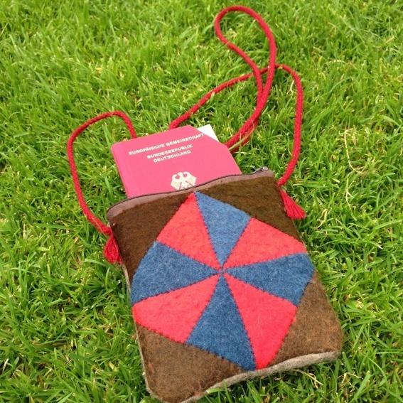 Nomad-Bag for Passport etc.