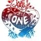 Refugee-Kollektiv We Are One -  Siebdruck Jute-Beutel