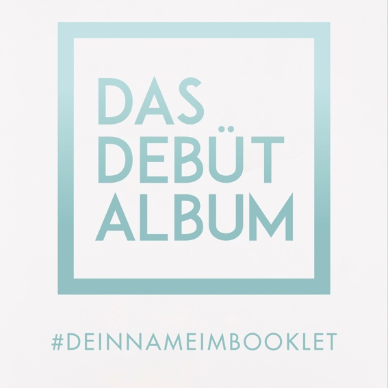 Dein Name im Booklet + Album
