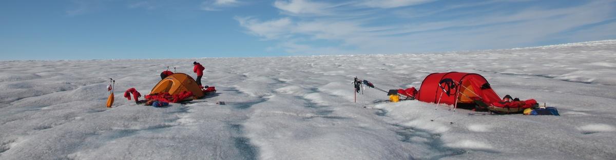 Eishöhenänderungen in Südgrönland