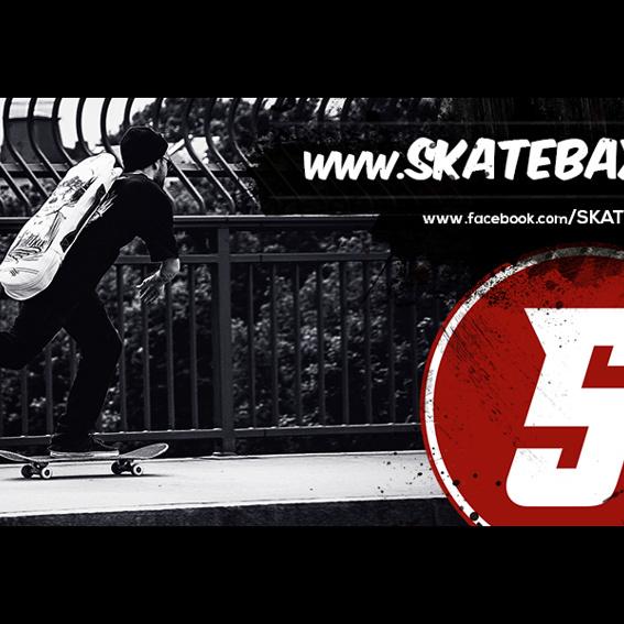 Special Edition Skatebax Tasche plus Board