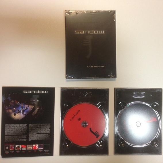 Doppel-DVD Sandow-Live