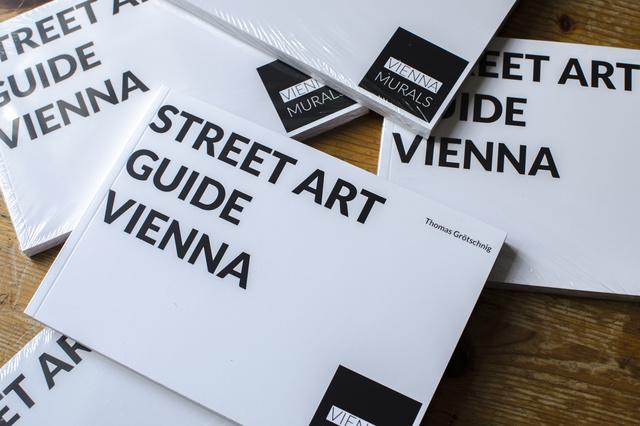 Vienna Murals - Street Art Guide Vienna - DAS BUCH