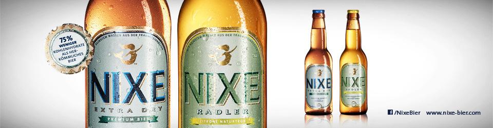 NIXE Bier - das Low-Carb Bier für Deutschland