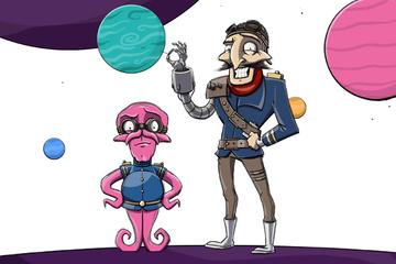 """Bountilus"" - Band 1 der neuen Sci-Fi Comicserie"