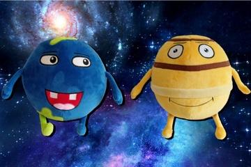 Plüsch-Planeten