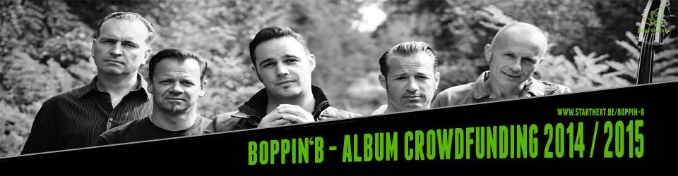 Boppin` B - Albumproduktion 2014 / 2015