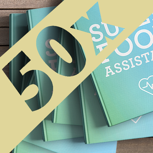 50 Superfood Kochbücher fürs Unternehmen