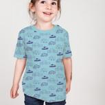 """Kipepeo Kinder Shirt """"Autos"""""""