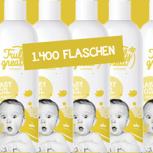 1.400 Flaschen mit deinem Branding