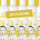 250 Flaschen mit deinem Branding