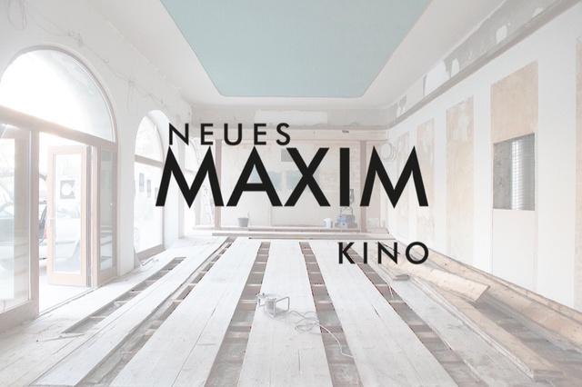 Wiedereröffnung Neues Maxim Kino
