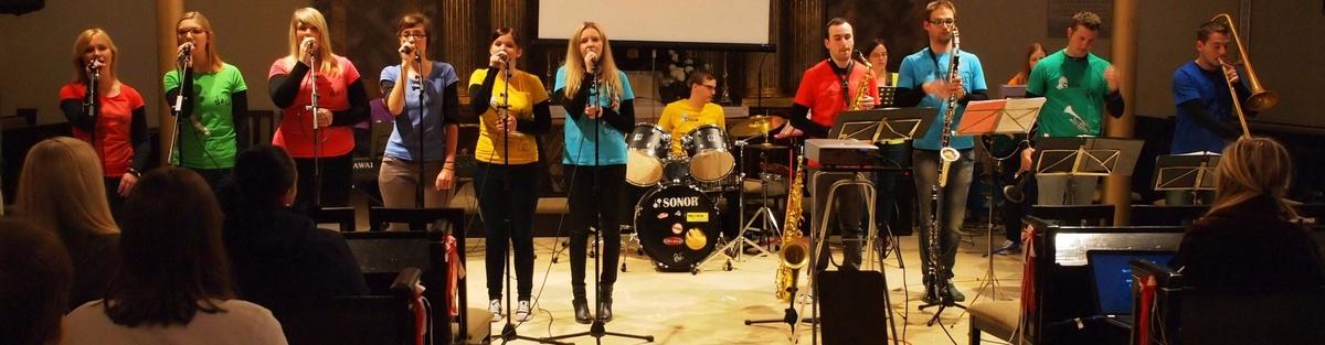 """Professionelles Debutalbum von """"Church goes Jazz"""""""
