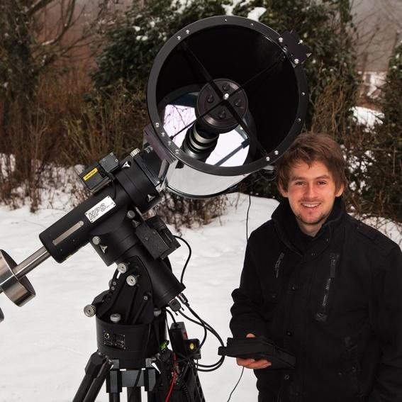Sternbeobachtung + eigenes Astrofoto!