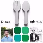Dinner - mit uns - in einem angesagten Restaurant in Berlin Mitte