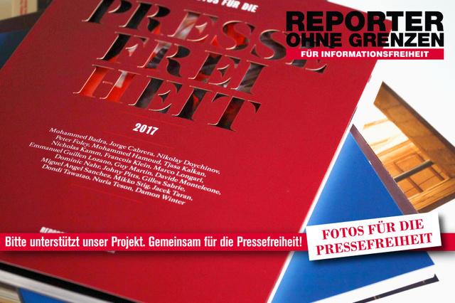 Fotos für die Pressefreiheit 2018