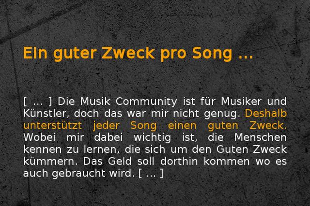 Gemeinsam Musik produzieren! Die Music Community
