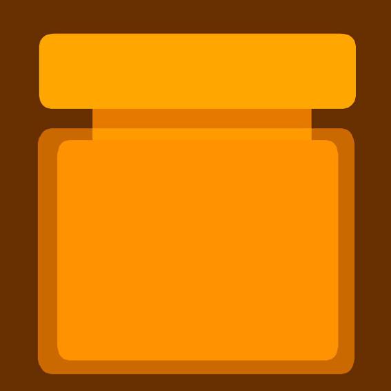 Ein Glas Honig vom heimischen Imker