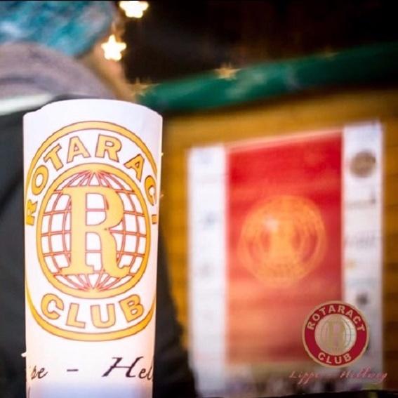 Waffel auf dem Lippstädter Weihnachtsmarkt