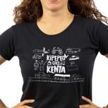 Kipepeo Goes Kenya Logo Shirt Frauen