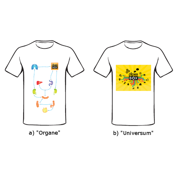 Exklusives T-Shirt Crowdfunding Edition :)