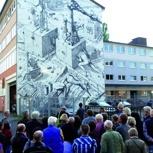 Private Graffiti-Stadtführung für bis zu acht Personen