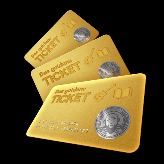 NEU: DAS GOLDENE TICKET