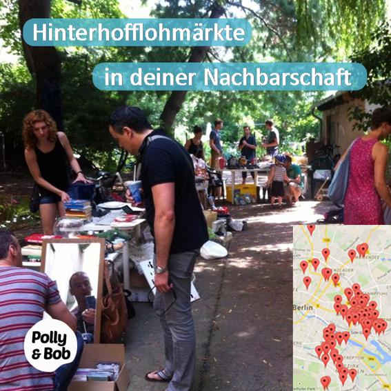 ein Hinterhofflohmarkt Sonntag in deiner Nachbarschaft  + 6 Teona Tomi Postkarten (1 Set) + 6 Jahre Mitgliedschaft im Wert von 144 Euro