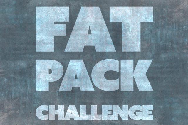 Fat Pack Challenge - Sport und Ernährungsprogramm