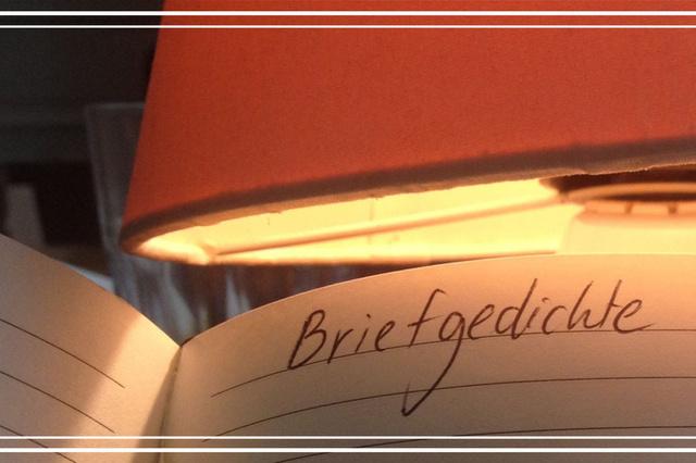 Briefgedichte und Wortkunst