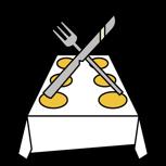 1 kleines Resteküche-Catering