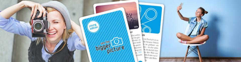 bigger picture Karten für junge Fotografen