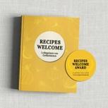 Hardcover Kochbuch inkl. einem Aufkleber