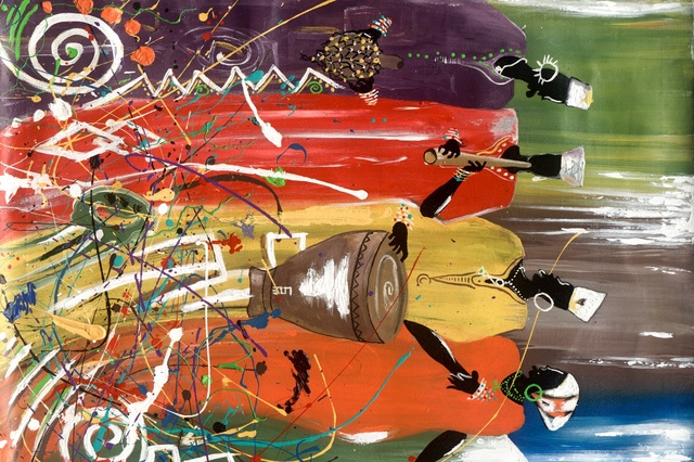 Africa Contemporary Art Gabah