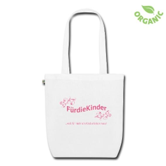 """Stofftasche mit """"FürdieKinder""""-Logo"""