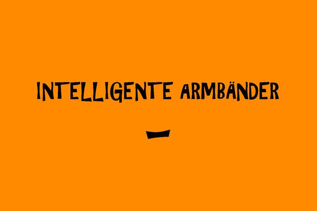 Intelligente Armbänder