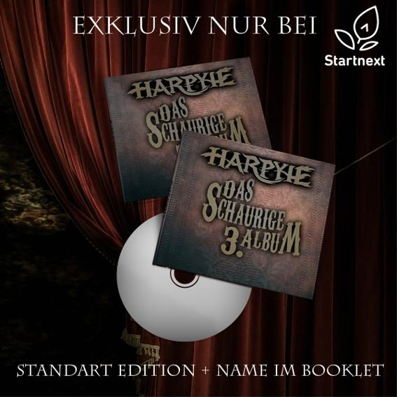 Album (Standart Edition) mit Unterschriften + Name im Booklet