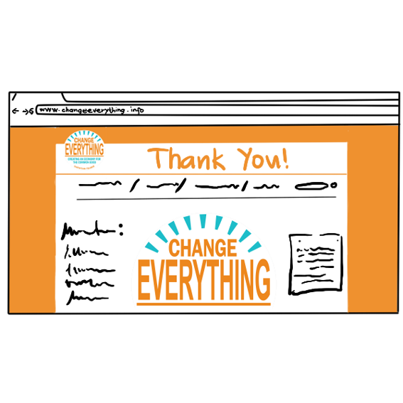 Your Name on the Change Everything Website