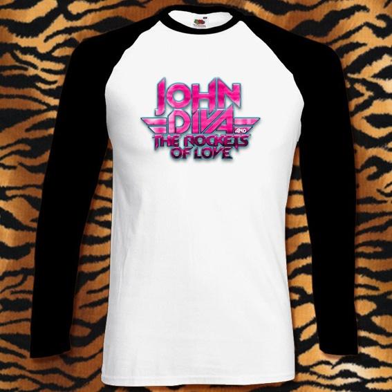 JOHN DIVA Logo Longlseeve + CD