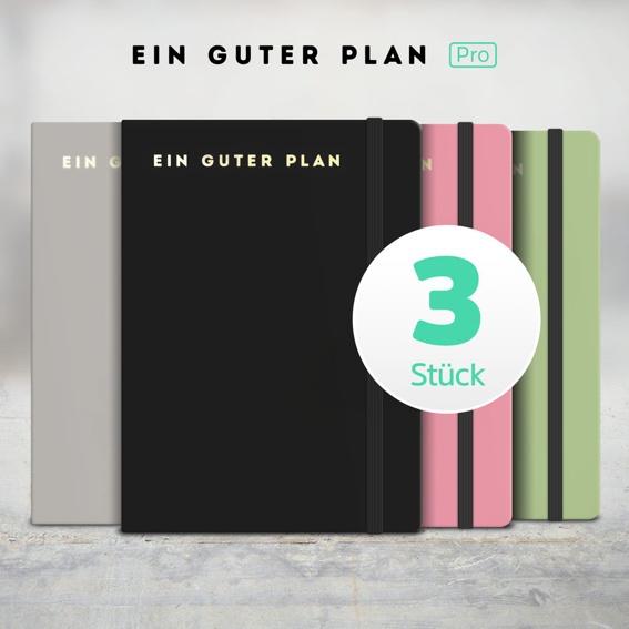 3 x Ein guter Plan Pro