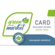 green market Pionier Kundenkarte mit €50 Gutschrift