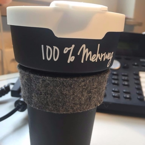 Mehrweg-Kaffeebecher (100 % Ökotabel®)