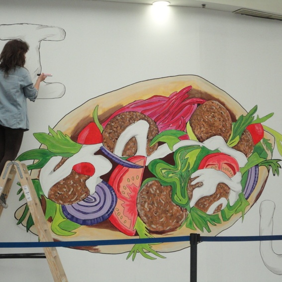 Wall Painting/Wandgemälder