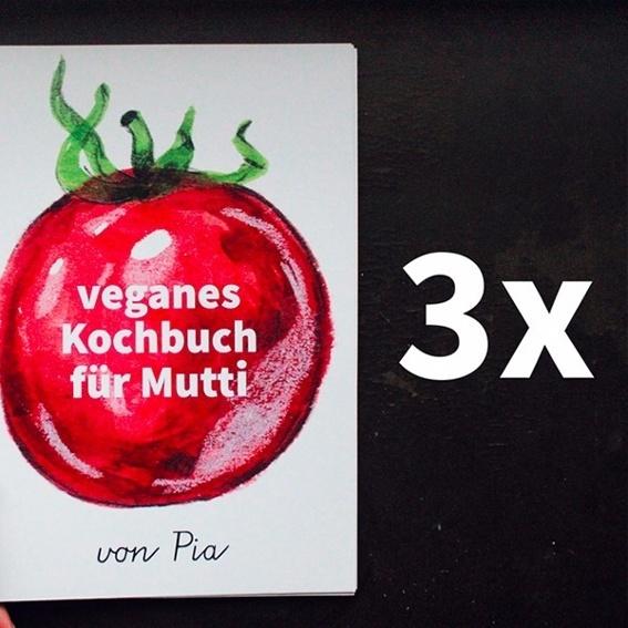 3 individuelle Kochbücher