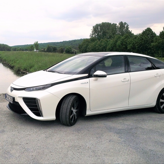 Probefahrt in die Zukunft! #Wasserstoff