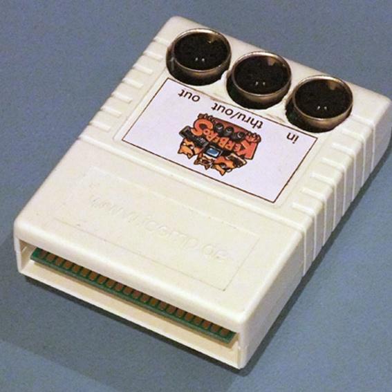 C64 Kerberos MIDI Cartridge