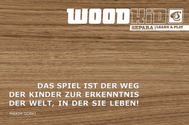 Holzbaukasten-Set WOODKID | BASIC