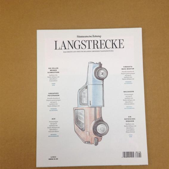 Langstrecke: Magazin
