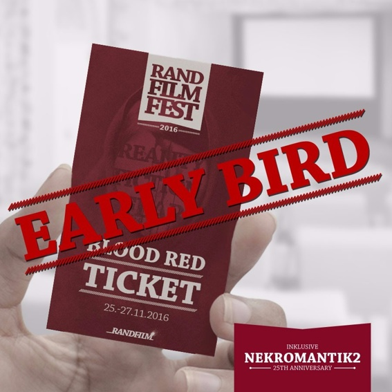 """EARLY BIRD """"Blood Red"""""""