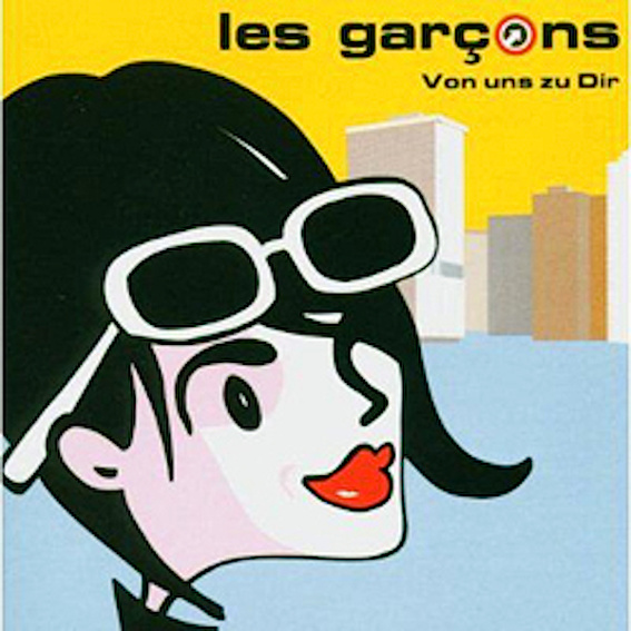 """les garcons """"Von uns zu Dir"""" CD- Album (Auf Wunsch signiert!)"""